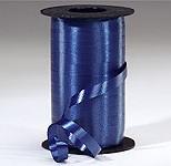 Dark Blue Curling Ribbon 500 Metres