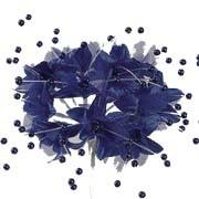 Babies Breath - 12 Stems - Navy Blue