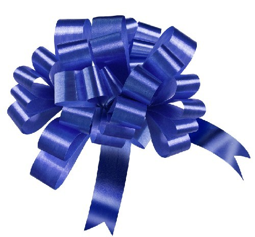 50mm Large Dark Royal Blue Pull Bows