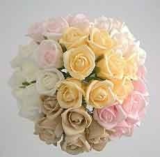 Ivory Small Rosebud Sample