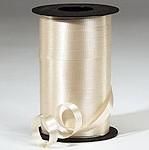 Cream Curling Ribbon 500 Metres