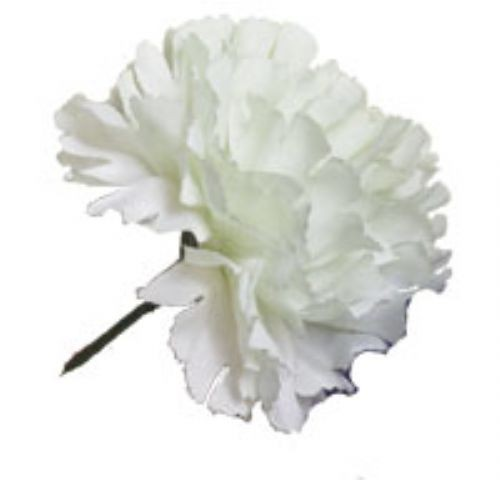 carnation sprays 10 white carnations artificial silk wedding flowers