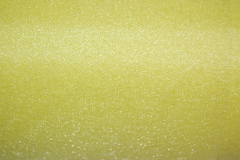 Yellow Organza Snow Sheer Roll