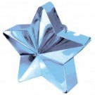 Baby Blue Star Balloon Weight