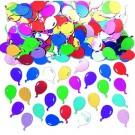 Multi-Coloured Balloons Table Confetti