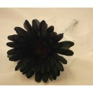 Flowergirl's Black & White Gerbera Wand