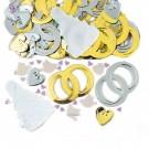 Bridal Bells Wedding Table Party Confetti