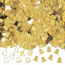Gold Bells Wedding Table Party Confetti