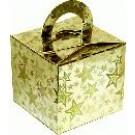 Gold Stars Balloon Weight / Favour Boxes