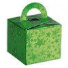 Green Stars Balloon Weight / Favour Boxes