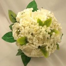 Ivory Mixed Rose & Rosebuds Posy Bouquet