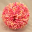 Pink Gerbera & Crystal Posy Bouquet