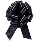 50mm Large Black Pull Bows