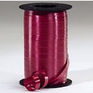 Burgundy Curling Ribbon 500 Metres