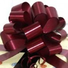 50mm Large Burgundy Pull Bows