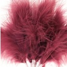 Cerise Pink Fluff Feathers