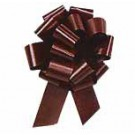 30mm Medium Chocolate Brown Pull Bows