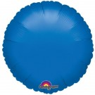 18'' Dark Blue Round Foil Balloon