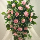 Pink Rose Diamante Shower Bouquet