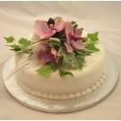 Pink Orchid Luxury Cake Topper