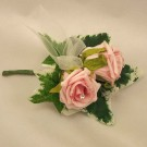 Pink Rose Diamante Corsage
