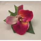 Pink Orchid Buttonhole