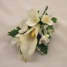 Ivory Cala Lily Corsage
