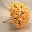 Gold Rose Bridal Bouquet