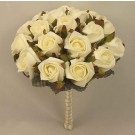 Ivory Rose Table Posy