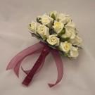 Ivory Rosebud Bridesmaid's Bouquet