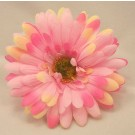 6 Silk Bright Pink Gerbera