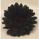 6 Silk Black Gerbera