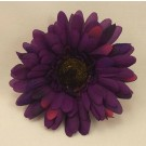 6 Silk Purple Gerbera