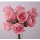 8 Luxury Pink Rosebuds
