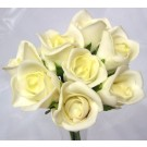 8 Luxury Ivory Rosebuds