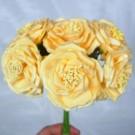 6 Luxury Wild Gold Roses