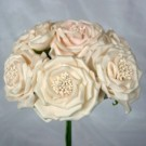 6 Luxury Wild Light Pink Roses