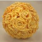 Wild Gold Rose Bridesmaid's Bouquet
