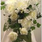 Cream Rose Shower Bouquet