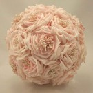 Light Pink Wild Rose Bridesmaid's Bouquet