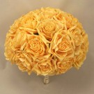 Large Luxury Gold Rose Table Posy