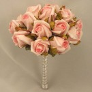 Salmon Pink Jubilee Rose Table Posy