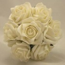 White Rose Children's Posy Bouquet