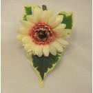 Ivory Gerbera Buttonhole