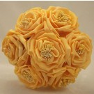 Wild Gold Rose Children's Posy