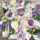 Large Lilac Rose & Cala Lily Shower Bouquet