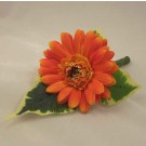 Orange Gerbera Buttonhole