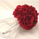 Red Rose Posy Bouquet