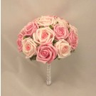 Mixed Pink Rose Table Posy