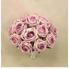 Lilac Open Rose Table Posy